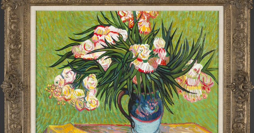 John Myatt's copy of Oleanders, after Vincent Van Gogh, 2012 | Courtesy of Washington Green Fine Art.