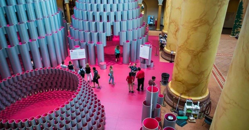 HIve   Courtesy of National Building Museum
