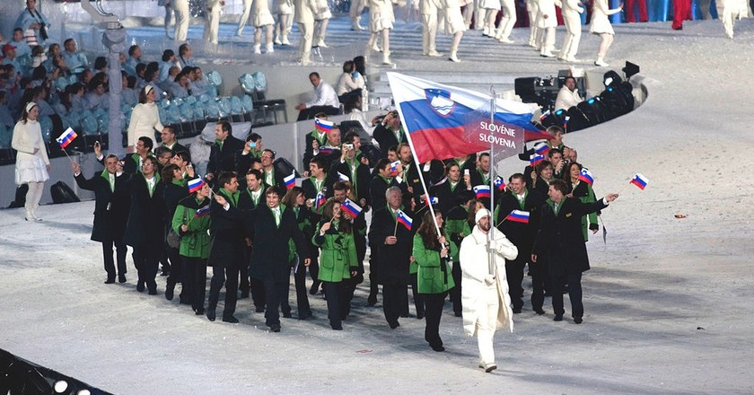 Slovenian Olympic Team | © Jude Freeman /WikiCommons