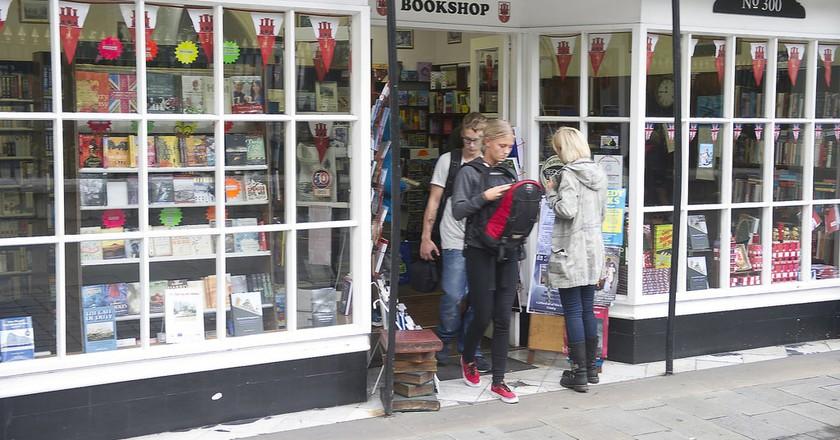The Gibraltar Bookshop; InfoGibraltar, flickr