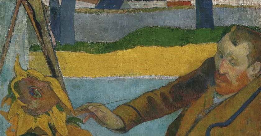 Paul Gauguin, the Painter of Sunflowers, 1888 | © Public Domain