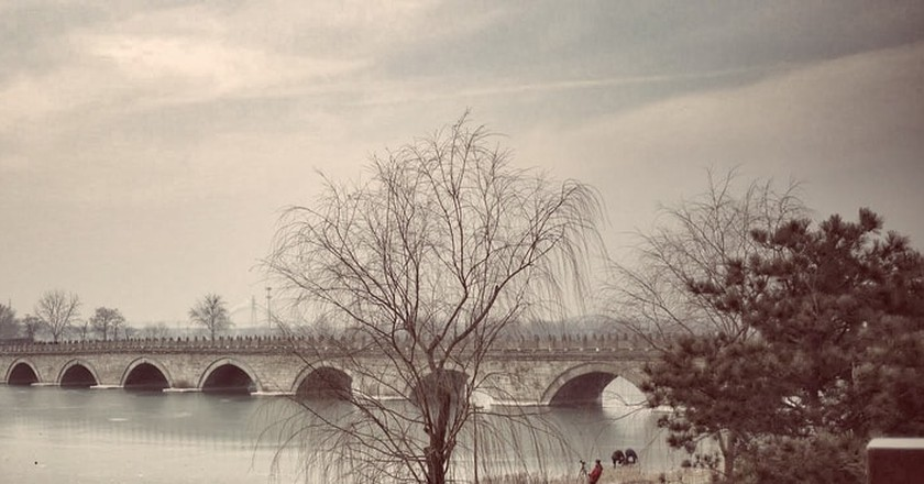 The Lugou Bridge (The Marco Polo Bridge) | © kaurjmeb / Flickr