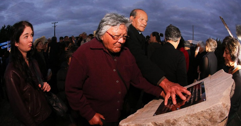 Waikato Land War Commemoration Event in 2014   © Manatū Taonga/Flickr