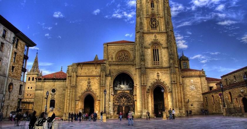Catedral de San Salvador, Oviedo, Asturias | ©javier.losa / Wikimedia Commons