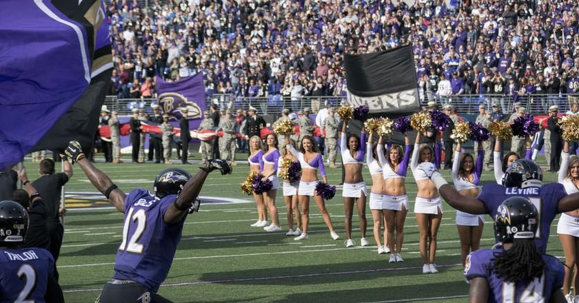 Baltimore Ravens | © Keith Allison/Flickr