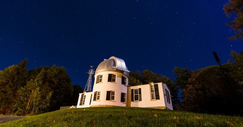 Shattuck Observatory | © Courtesy of Dartmouth College/Joshua Renaud