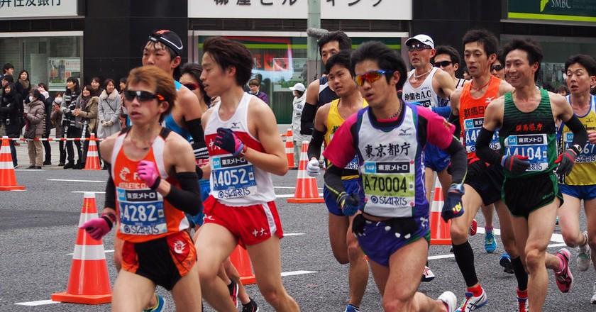 Runners | © Naoki Nakashima /Flickr