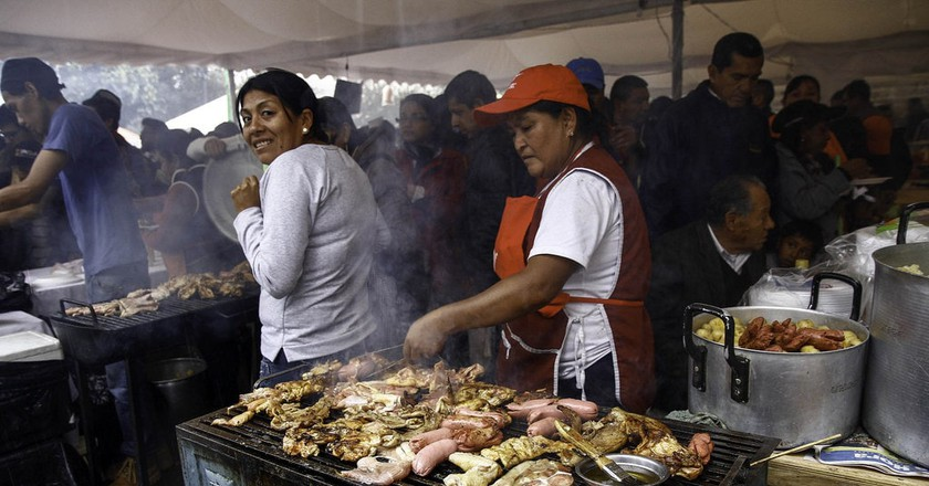 Comida Típica, Quito, Ecuador   © Agenica de Noticias ANDES / Flickr