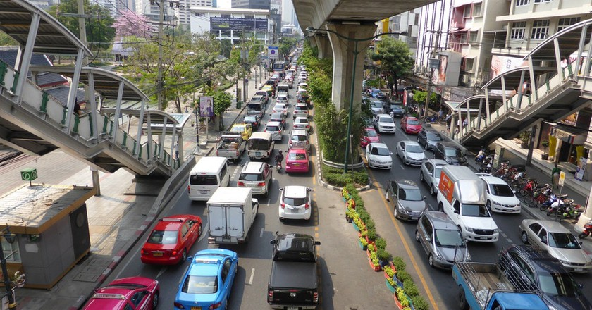 Bangkok traffic | © David Johnson / Flickr