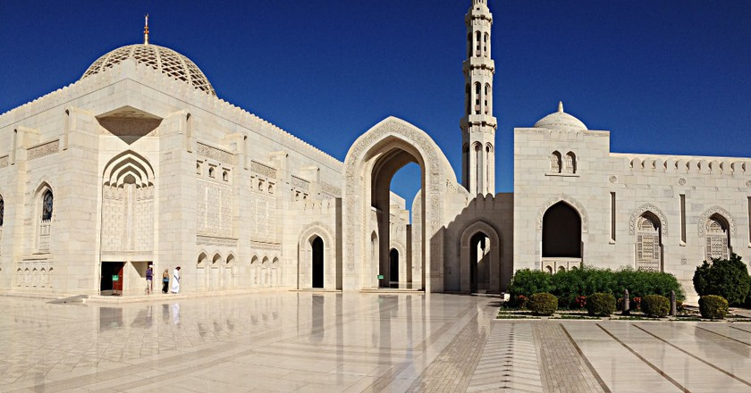 Sultan Qaboos Grand Mosque Muscat | © Thierry Gregorius/Flickr