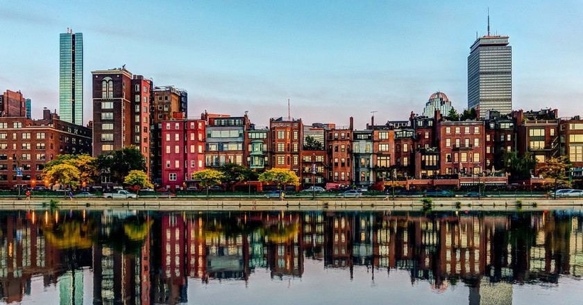 Boston's Back Bay   © Robbie Shade/Flickr