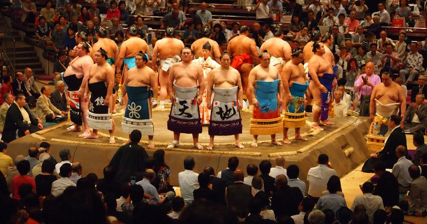 Sumo | ©  Ian Kennedy/Flickr
