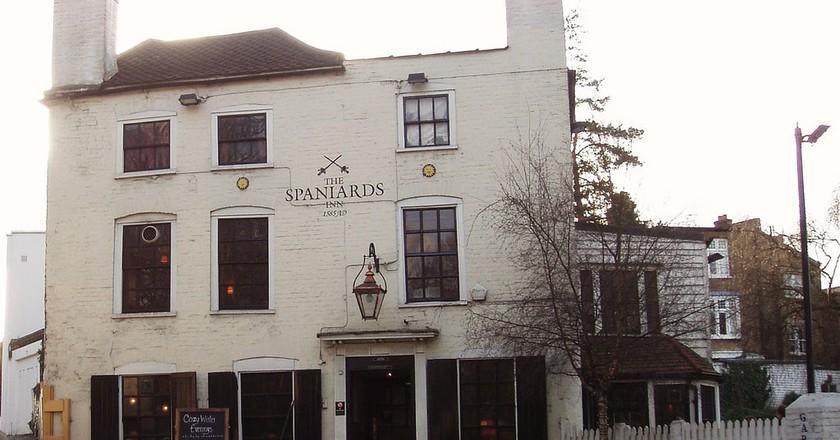 Spaniards Inn, Hampstead   © Ewan Munro/Flickr