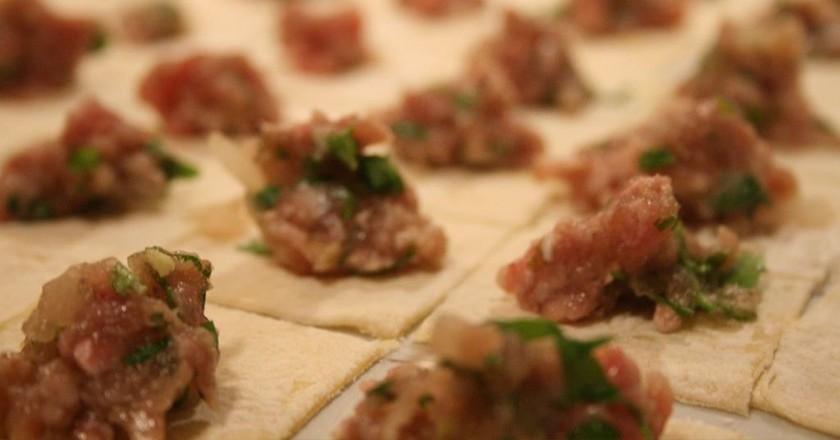 Manti dumplings | © The Bitten Word / Flickr