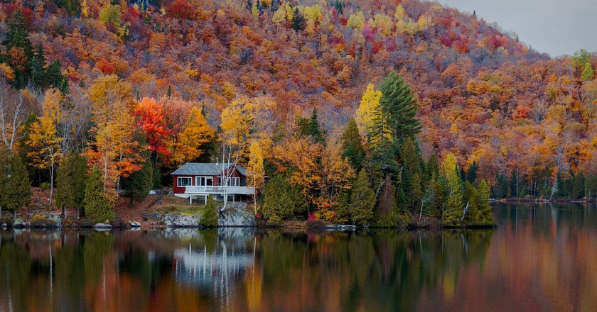 Fall in the Laurentian Mountains | © Malcolm Carlaw / Flickr