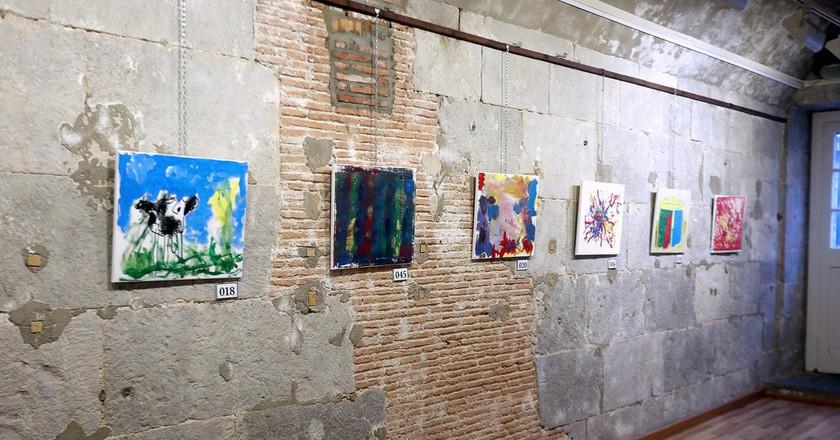 Works at Gibraltar's  Gustavo Bacarisas Gallery; InfoGibraltar/flickr