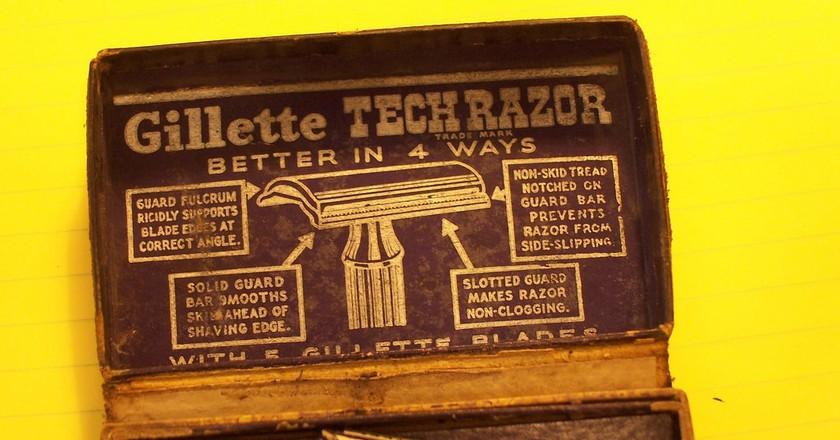 Gillette razor 3   © C Zimmerman/Flickr