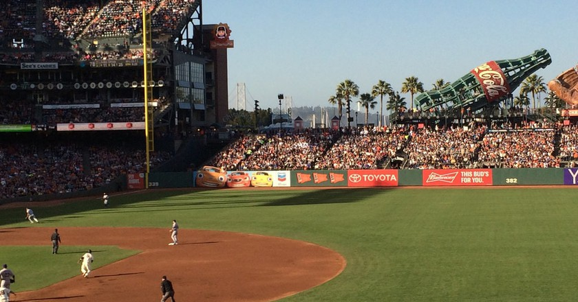 AT&T baseball park San Francisco Giants & Dodgers | © Harold Litwiler/Flickr