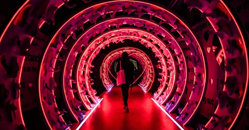 29Rooms' Love Walk (in collaboration with Aldo) | Mark Choi / © Culture Trip
