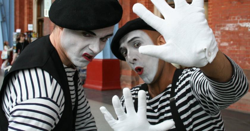 Le mime (mime) | © Flickr / Jan Lewandowski