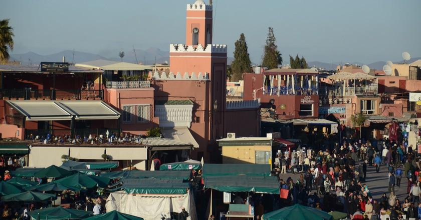 Inside Marrakech's medina | © Valentin Munitsa / Flickr