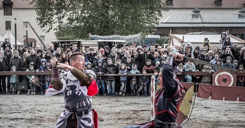 Knights tournament in Spandauer Zitadelle    © Sergey Galyonkin/flickr