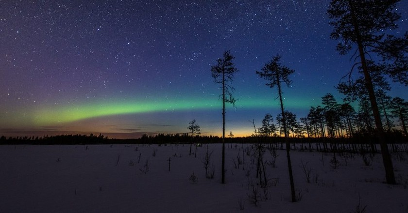 Northern Lights in Finland | © Juho Holmi / Flickr