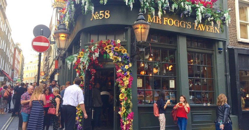 Mr Fogg's Tavern, Covent Garden | © Stephen Kelly/Flickr