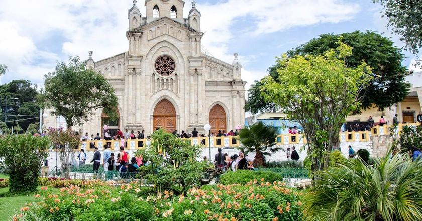 Cathedral in Saraguro, Ecuador   © Angie Drake / Flickr