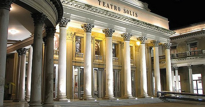 Solis Theatre, Old Town, Montevideo.