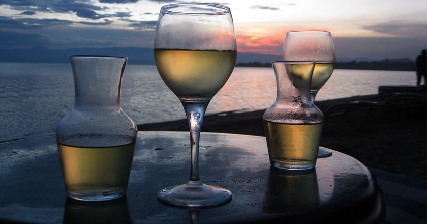 Wine at sunset | © Rachel Strohm/Flickr