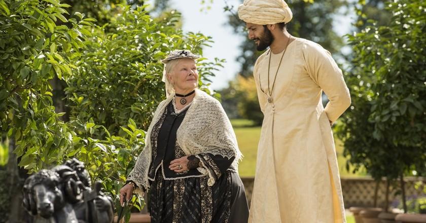 Dame Judi Dench and Ali Fazal in 'Victoria & Abdul'   © Universal Pictures