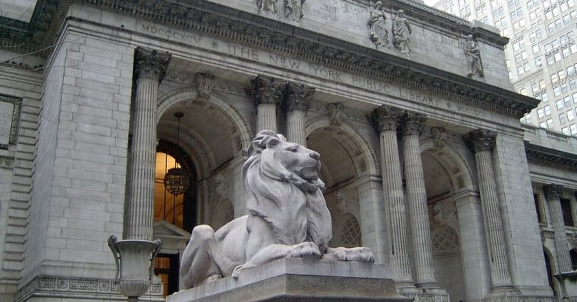 New York City Library front | © melanzane1013/Flickr