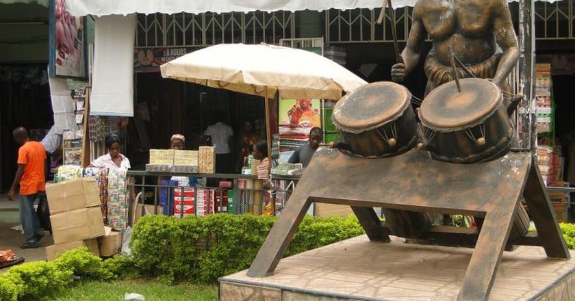 Street scene, Kumasi | © Adam Jones/Flickr