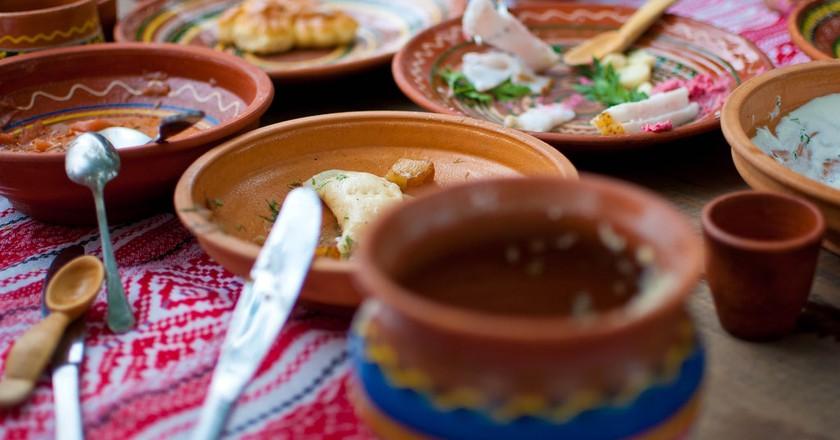 Traditional food of Ukraine | © Sergey Galyonkin/Flickr