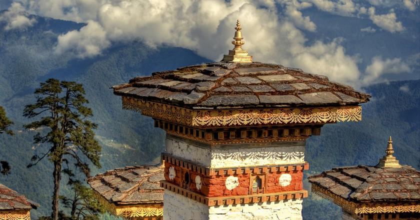 DochuLa Pass, Bhutan | © PROGöran Höglund (Kartläsarn)/Flickr