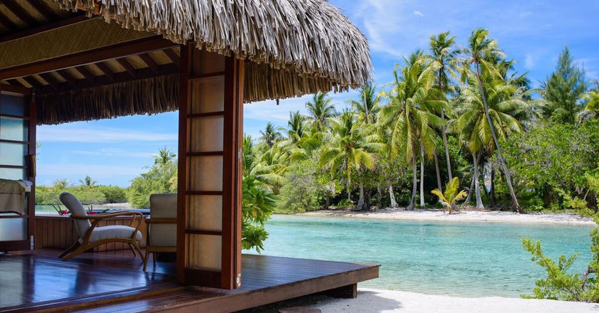 Fare Spa on Vahine Private Island | © Small Luxury Hotels of the World