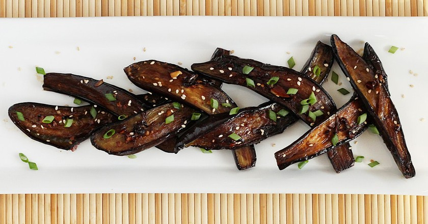 Chinese style eggplant  © Stacy / Flickr
