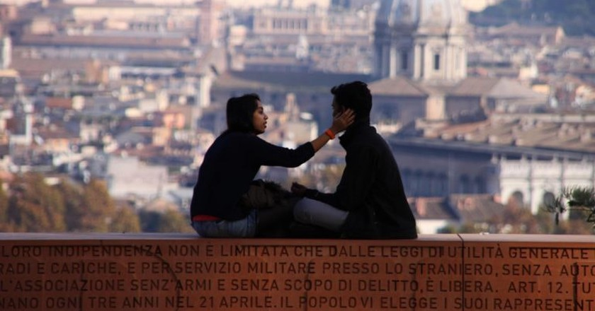 The Gianicolo Hill is the perfect romantic spot   © ( Waiting for ) Godot/Flickr