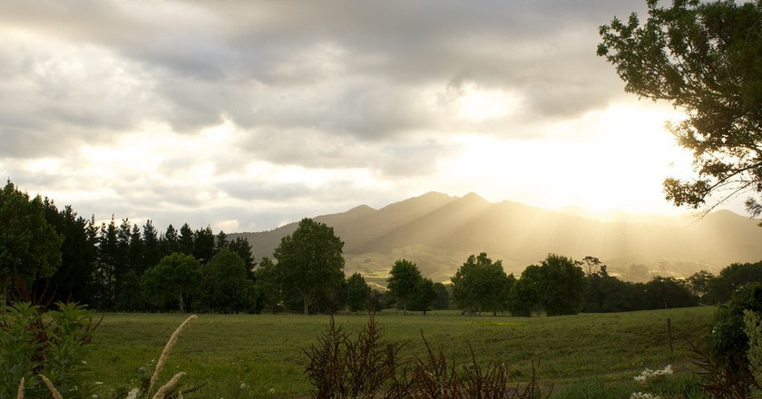 Pirongia Sunset | © ItravelNZ/Flickr