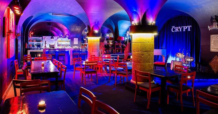The Crypt Jazz Club, Cape Town   Courtesy The Crypt