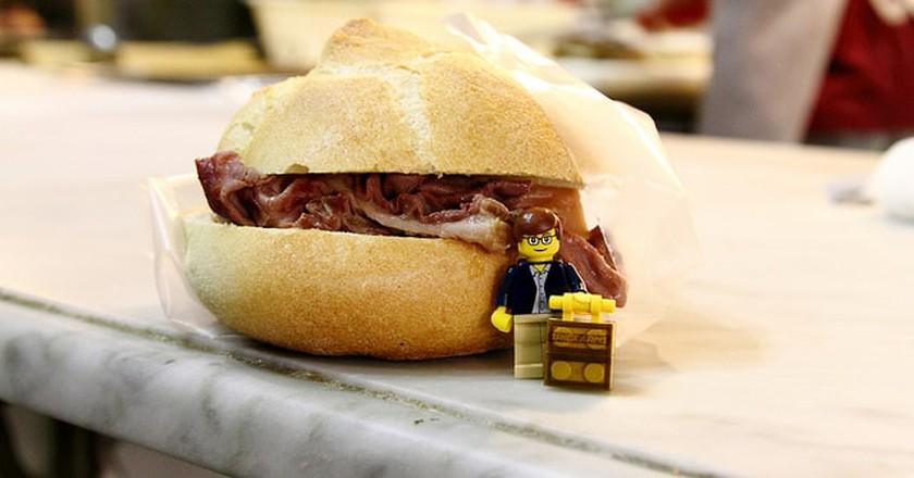 Lampredotto Sandwich ©enigmabadger/Flickr