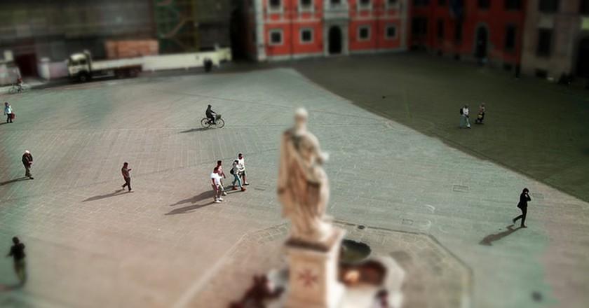 Piazza dei Cavalieri, Pisa ©Nicola Sap De Mitri/Flickr