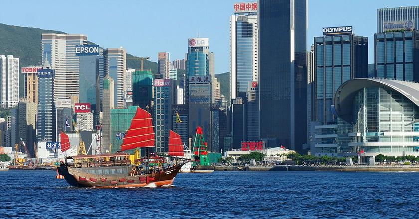 Victoria Harbour, Hong Kong   © Malcolm Koo / CC-BY-SA 3.0 / WikiCommons