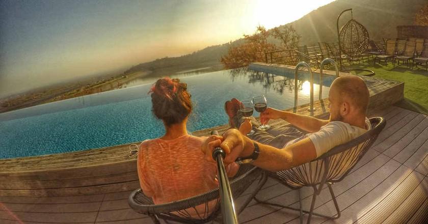 Infinity pool at Royal Batoni    © Baia Dzagnidze