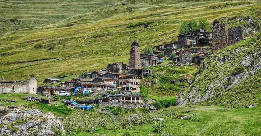 Village Dartlo in Tusheti   © Baia Dzagnidze