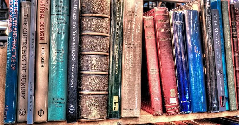 books on the shelf of a bookstore / (c) Pixabay