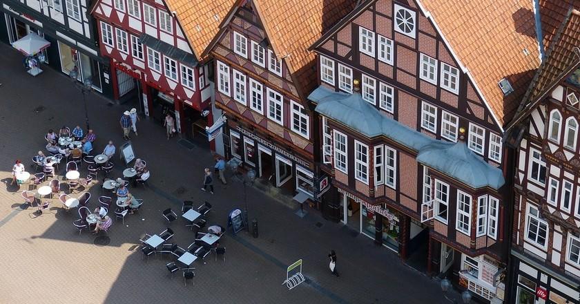 Celle town centre