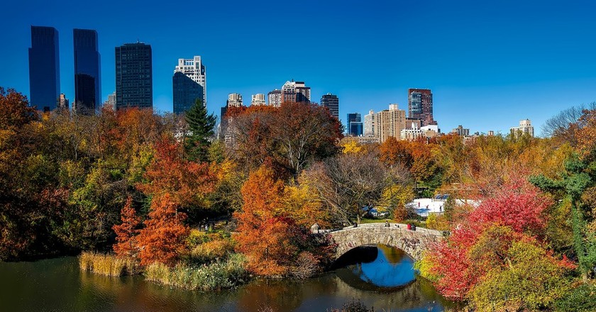 Central Park in fall |© 12019/Pixabay