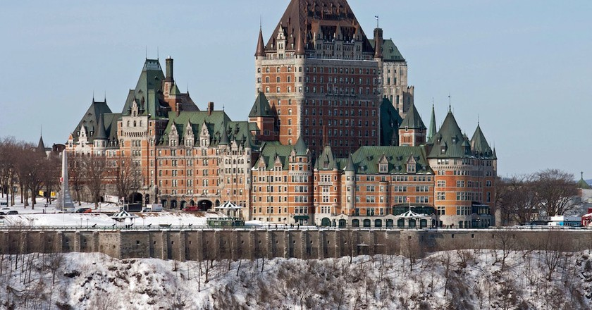 The Château Frontenac | © Bernard Gagnon / WikiCommons